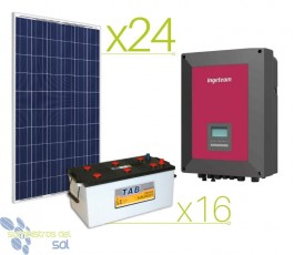 38000Wh Professional Solar Kit