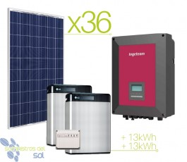 Professional lithium 60kWh...