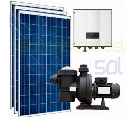 Solar kit for pool purifier...