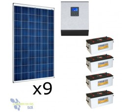 15120Wh off grid Solar Kit