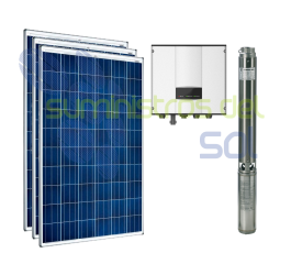 0.5CV direct solar pumping kit