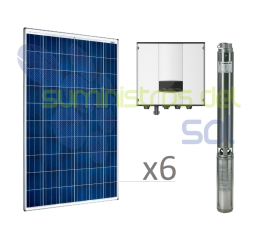 Direct Solar Pumping Kit 1,5CV