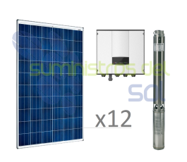 Direct Solar 3CV pumping kit