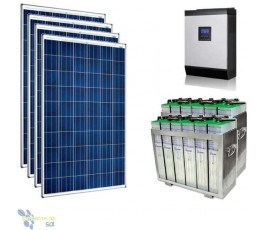 Kit Solar 6000Wh TOPZS