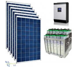 Kit Solar 9000Wh TOPZS