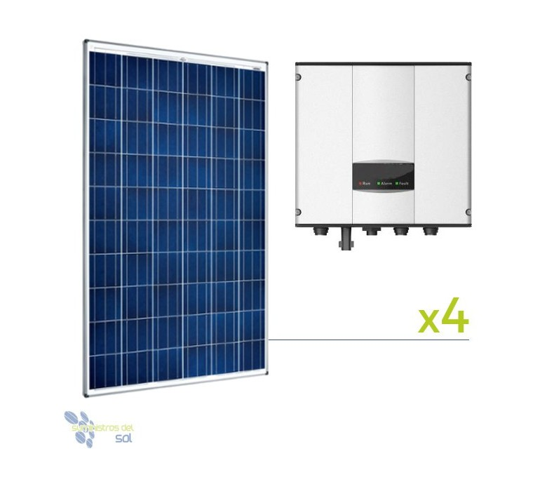 Kit Solar Treatment Pool 1.5 hp | Solar plates for swimming pools
