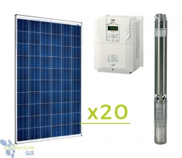 Solar Direct 4CV pumping kit