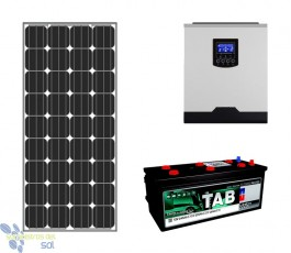 900Wh Off Grid Solar Kit
