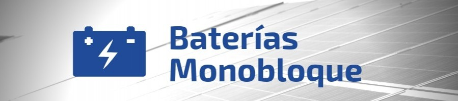 Monoblock Solar Batteries