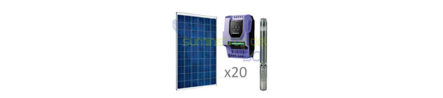 Direct Solar Pumping Kit 20 to 50 meters
