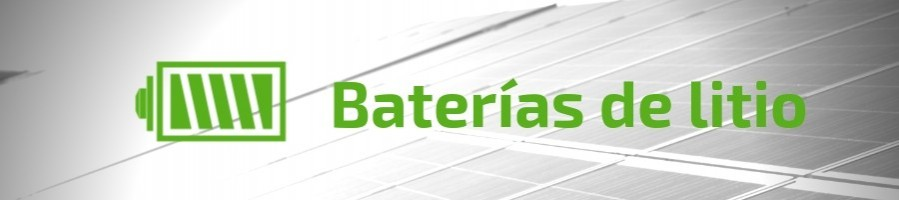 Lithium batteries for solar storage