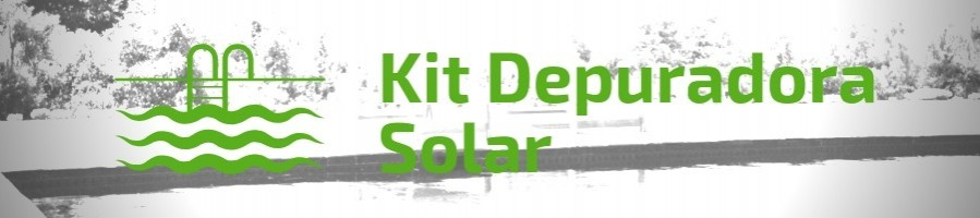 Kit solar Piscinas