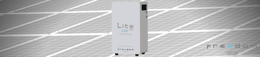 Freedom Lite Lithium battery