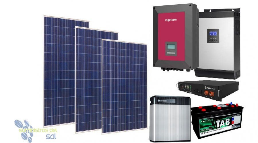 Kit Solares Económicos